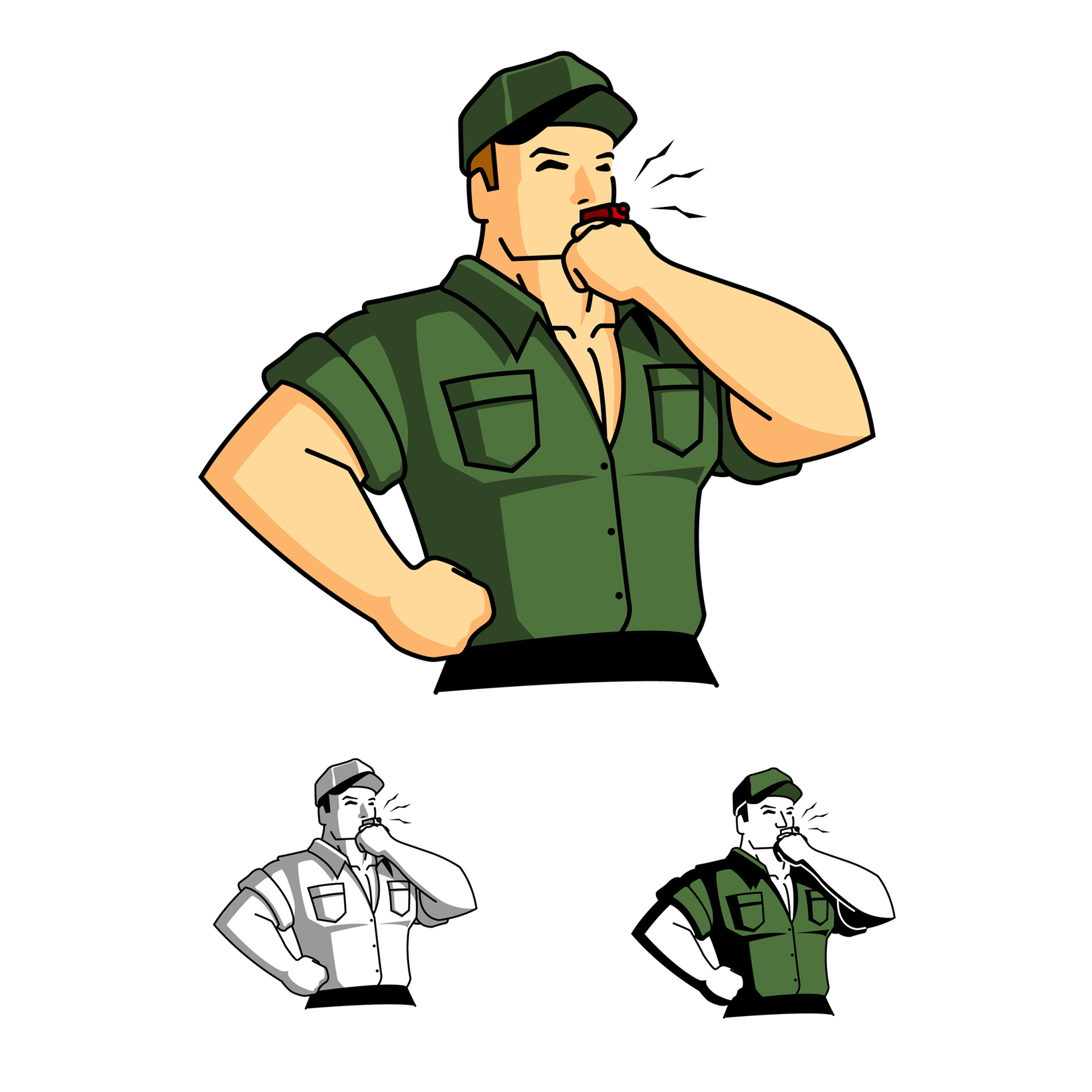 1641x1641 Sergent Clipart Military