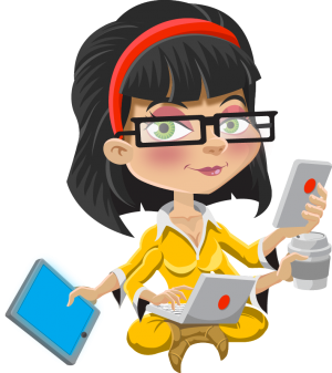 300x337 Software Clipart Project Manager
