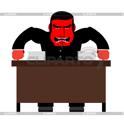 400x400 Anger Clipart Angry Manager