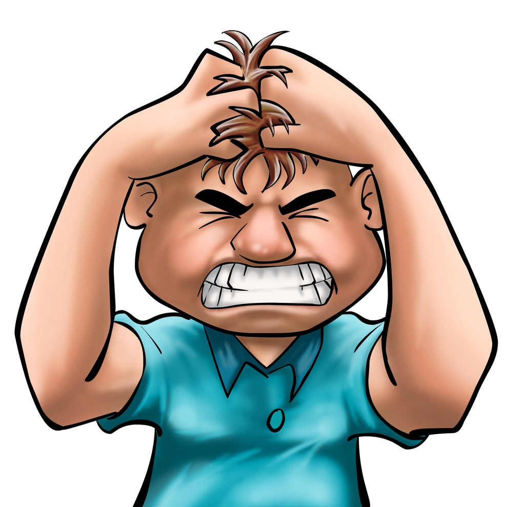 989x989 Anger Clipart Angry Manager