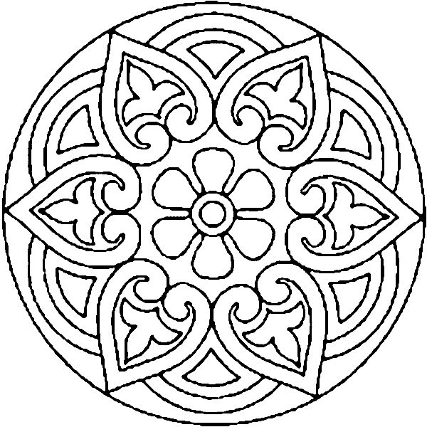600x600 Best Mandala Colouring Pages Ideas Mandala