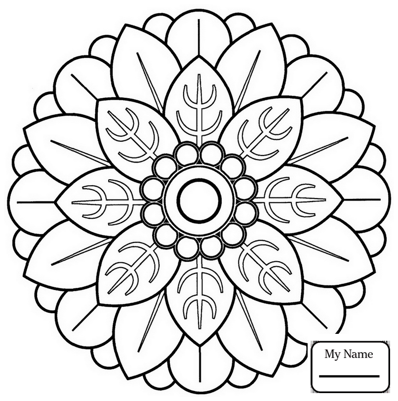 Mandala Coloring Pages Free download