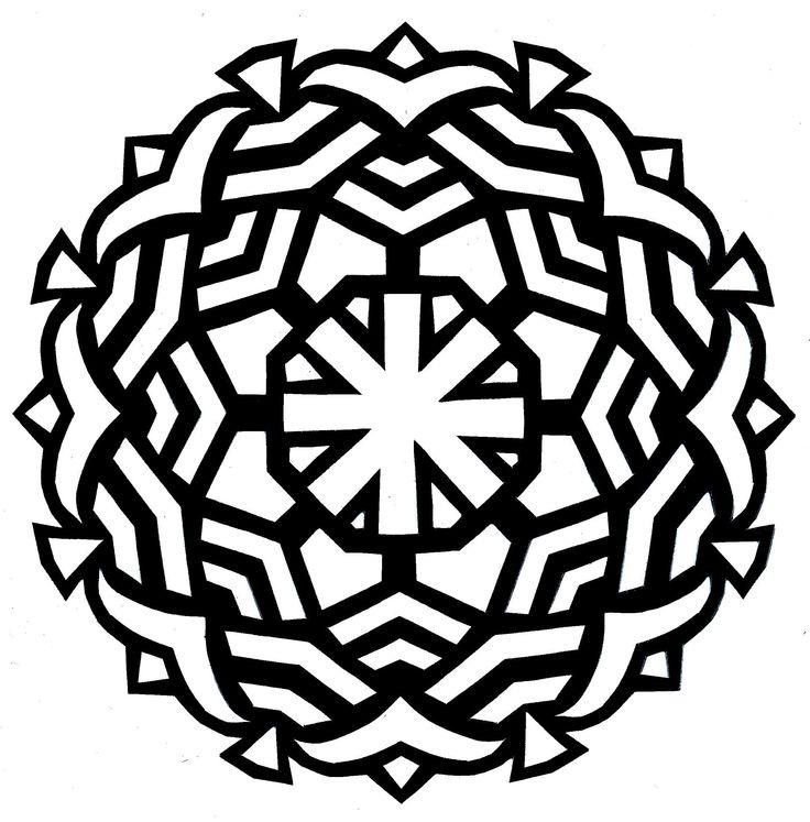 736x747 The Best Mandala Coloring Online Ideas Mandala