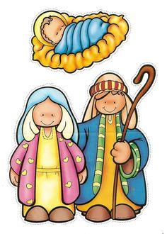236x330 The Nativity Children Free Clip Art