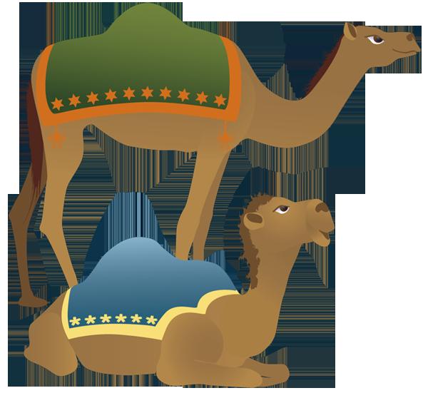 600x551 Camel Clipart Nativity Character