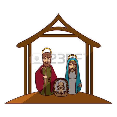 450x450 Clipart Mary And Jesus