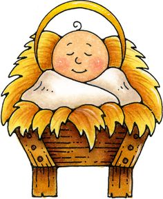 236x289 Christmas Clipart Baby Jesus In Manger
