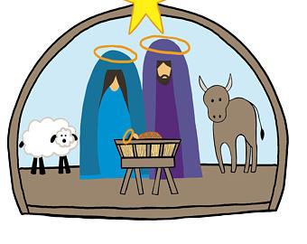 340x270 Nativity Clip Art Etsy