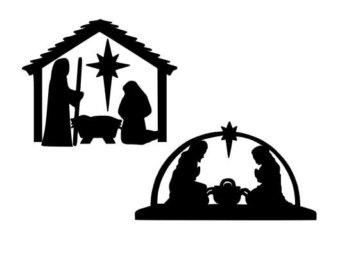 340x270 Nativity Scene Etsy