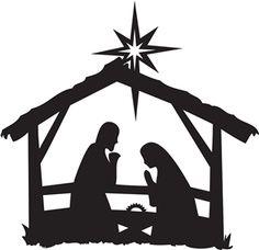 236x228 Nativity Scene Clipart