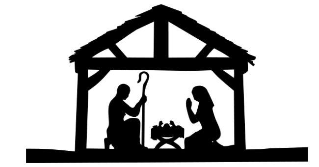 650x340 Nativity Silhouette Clip Art Thewealthbuilding