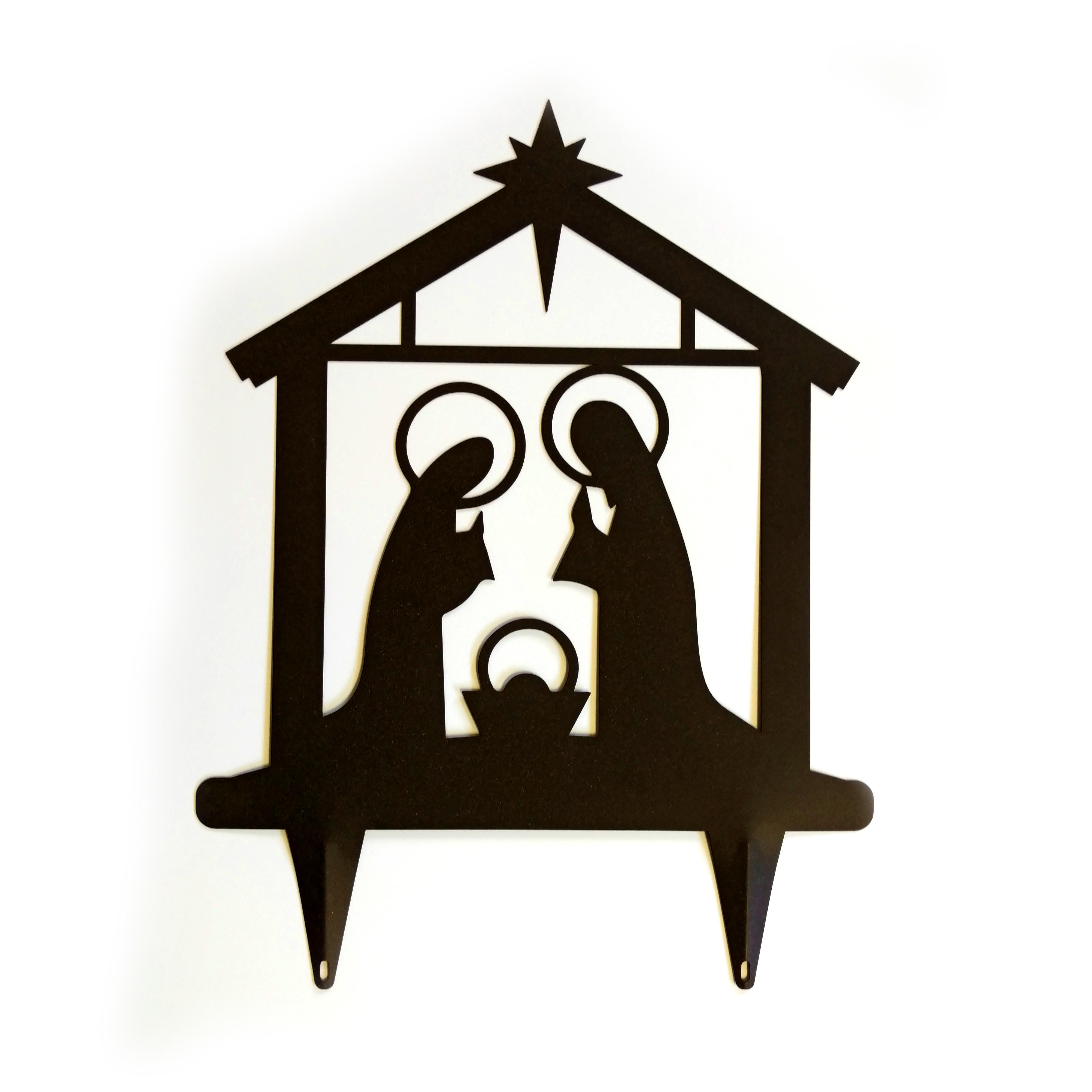 4002x4002 Nativity Yard Art Innovative Logo Products