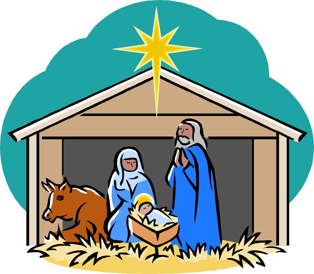 1024x893 Star With Nativity Scenes Clip Art Cliparts