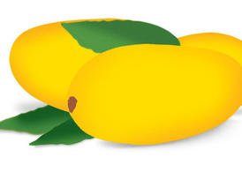 274x195 Mango Fruit Clip Art, Vector Mango Fruit