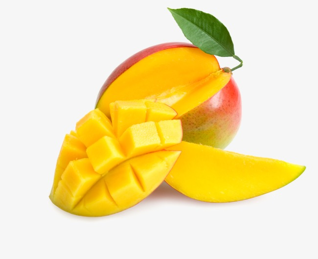 650x529 Fresh Mango Fruit, Fruit Fruit, Leaves Green Leaves Cut Into Cubes