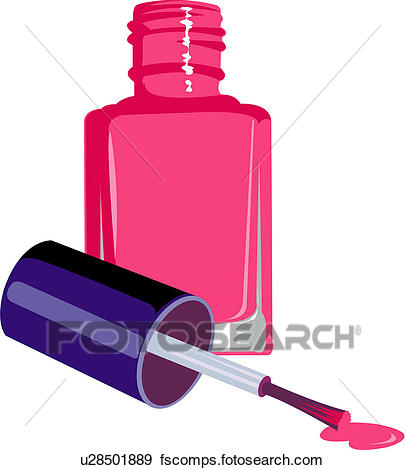 405x470 Clip Art Of Manicure, Varnish, Beauty Care, Make Up, Beauty