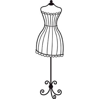 320x320 Black Dress Clipart Dress Mannequin