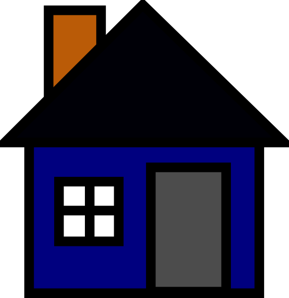 582x600 Bungalow Clipart House Background