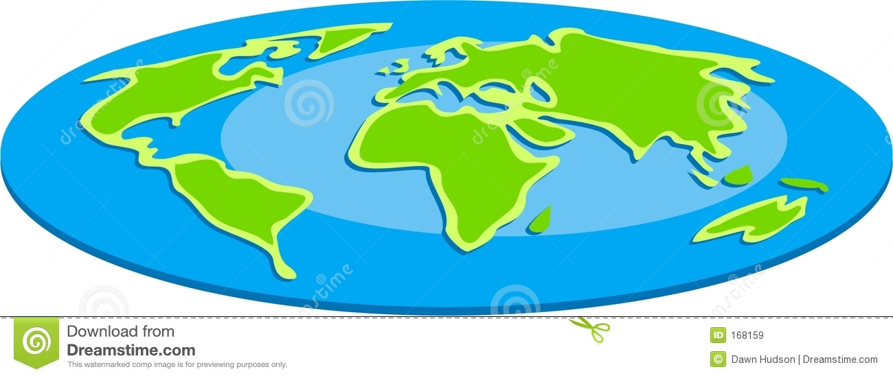 1300x551 Map clipart earth map