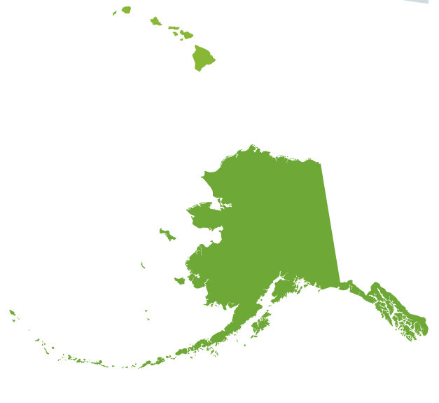 627x575 Alaska map clip art