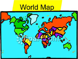 300x228 Top 78 World Map Clip Art