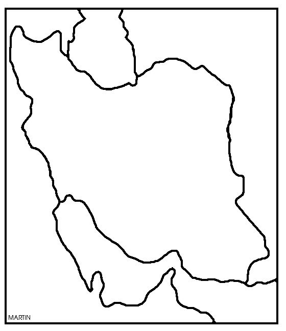 560x648 Middle East Map Clip Art