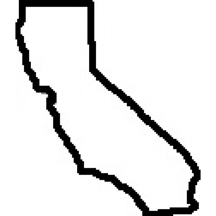 700x700 Simple California Cliparts 257718