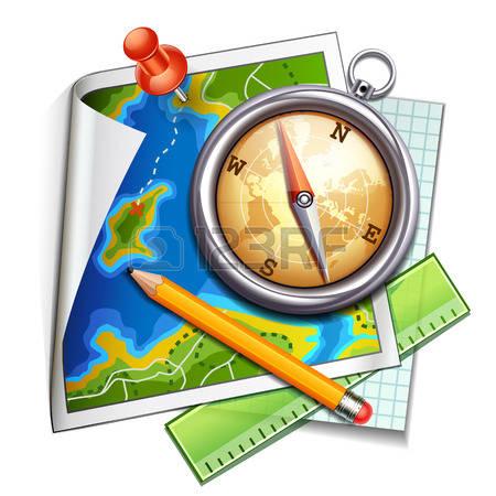 450x450 Map Clipart Navigation