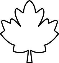 200x212 Maple Leaf Clipart Jungle
