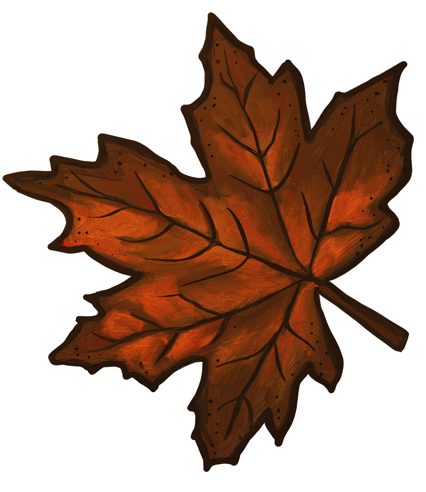 1385x1600 Brown Maple Leaf Clip Art