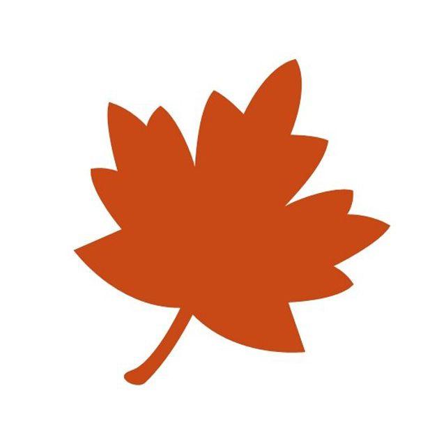 640x640 Fall Leaves Clip Art