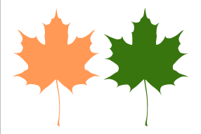 286x191 Maple Leaves Clip Art