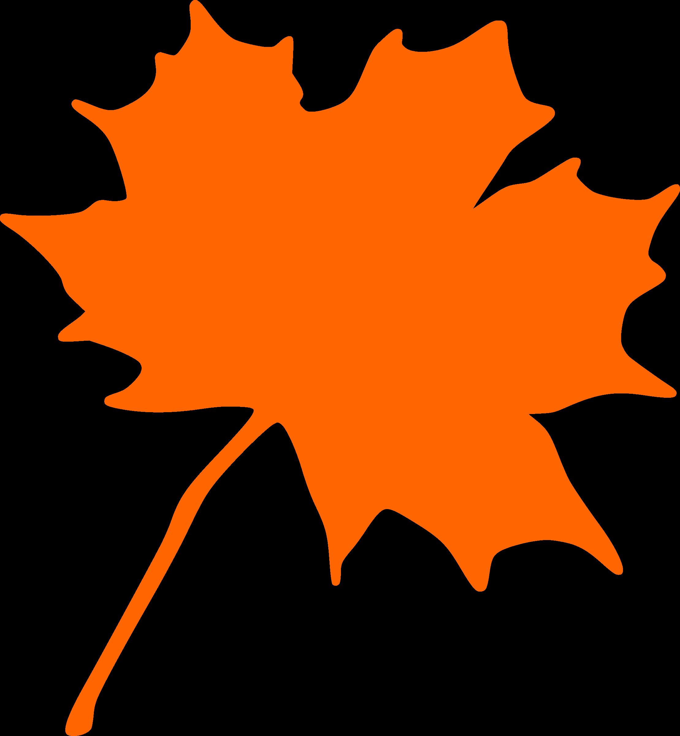2218x2400 Maple Leaf Clipart Big Leaf