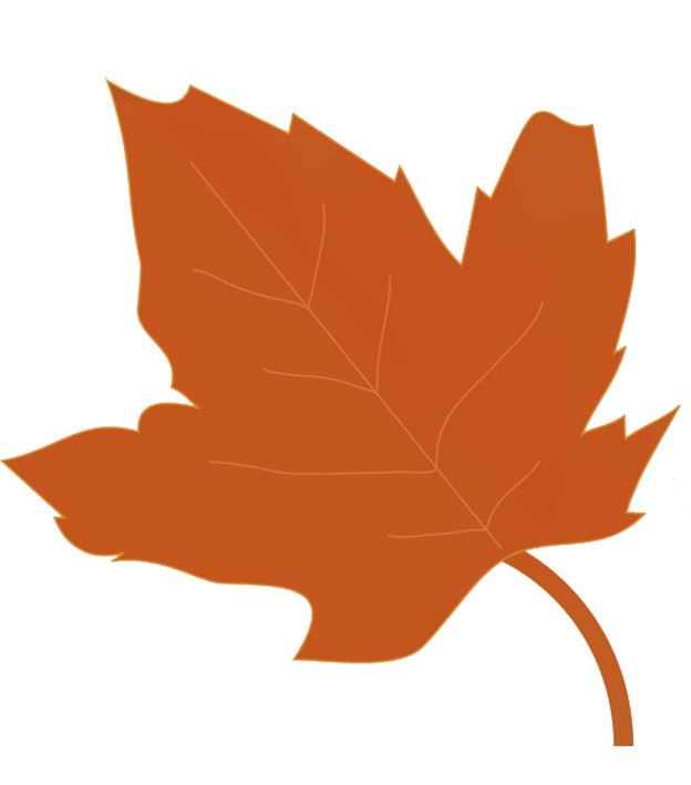 624x709 Fall Leaves Clip Art