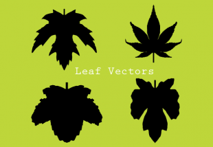 310x214 Leaf Silhouette Clip Art Free Vectors Ui Download