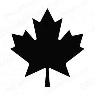 310x310 Maple Leaf Silhouette Clip Art
