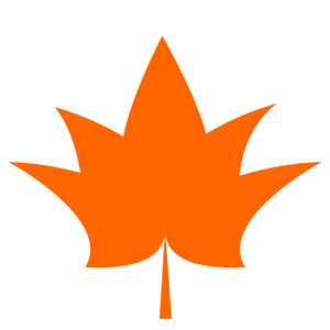 300x300 7061 Maple Leaf Outline Clip Art Public Domain Vectors