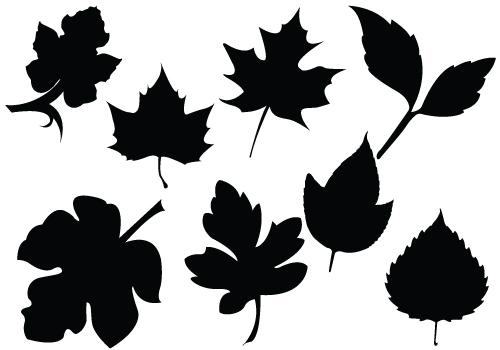 500x350 Oak Leaves Clipart
