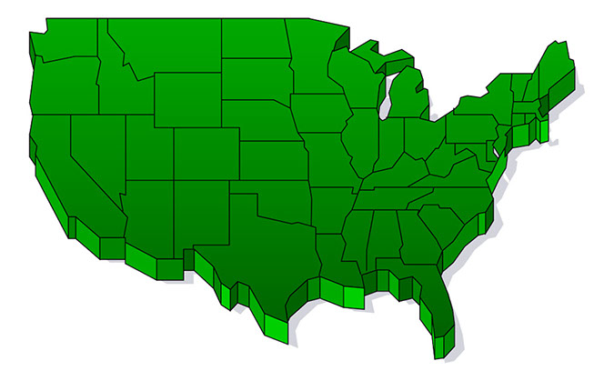 675x419 Us Map Maps Usa Map Clip Art Image