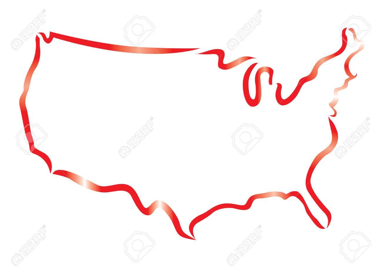 1300x909 blank us map clip art at clkercom vector clip art online