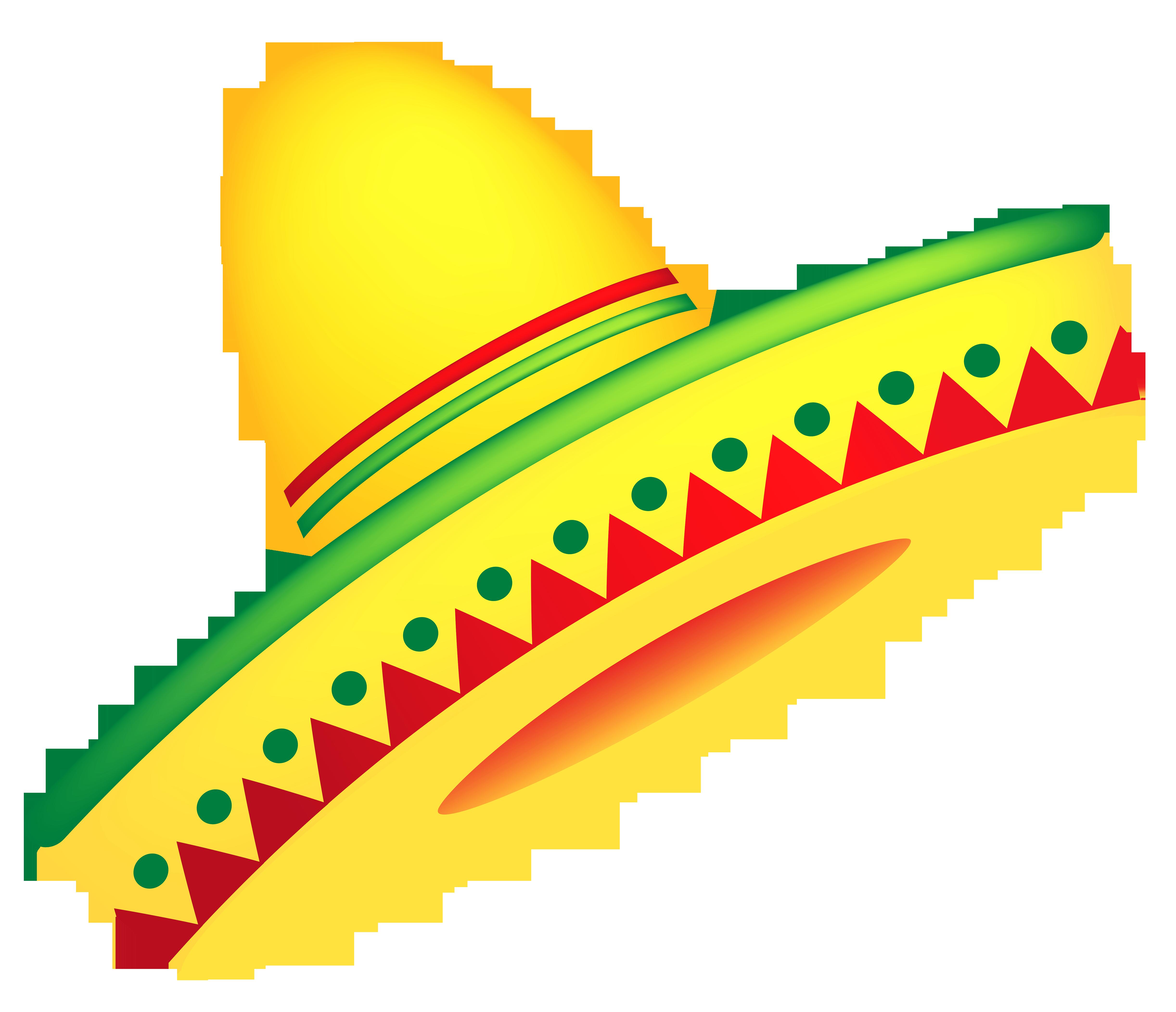 4888x4205 Mexican Sombrero Clipart