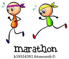 225x194 Marathon Clip Art And Illustration. 9,095 Marathon Clipart Vector