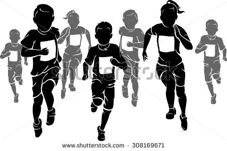 450x301 Race Clipart Kids Marathon