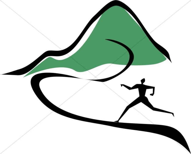 776x623 Running Figures Clip Art