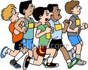 300x241 Of Men Running In A Marathon