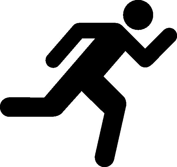 600x565 Clipart Runner