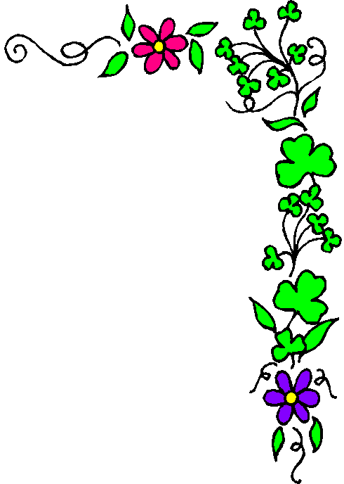 490x688 Free St Patricks Day Borders Clipart