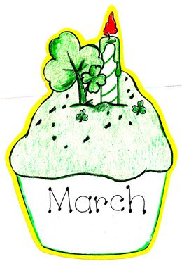 260x378 March Clip Art For Calendars Free Clipart Images 7