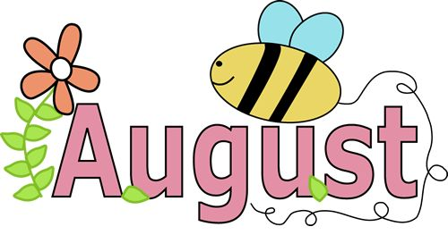 500x263 Month August Clipart