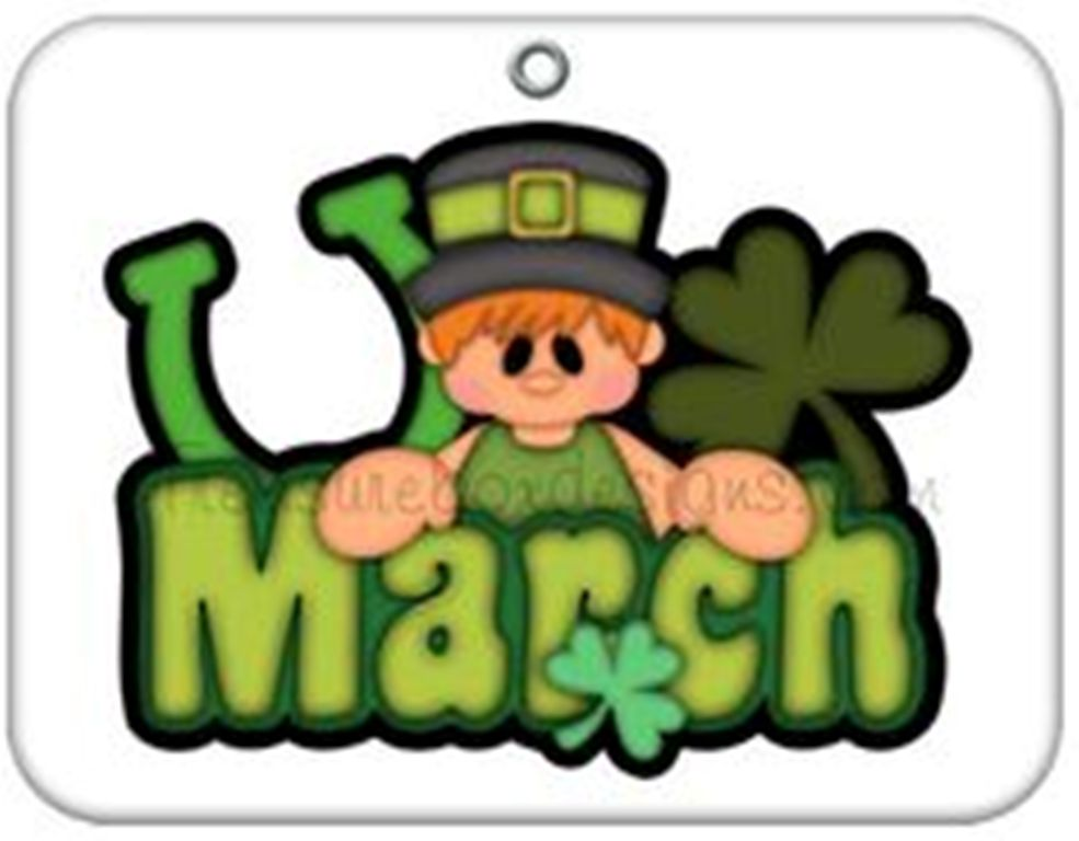 985x768 Month Of March Clip Art